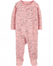 Animal 2-Way Zip Thermal Sleep & Play
