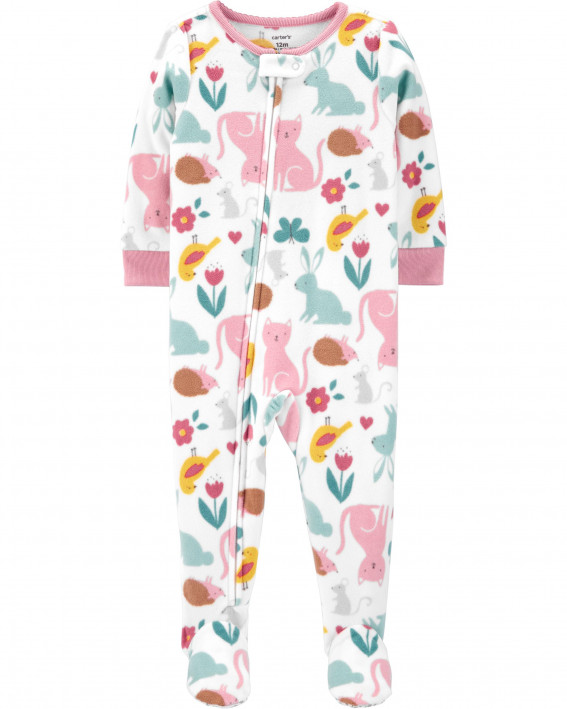 1-Piece Animal Fleece Footie PJs - 28 руб.